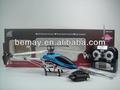 Supérieure rc hélicoptère 3,5 canal rc hélicoptère en métal