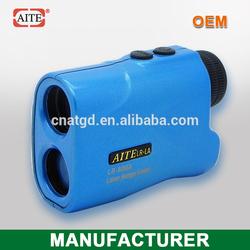 6*24 600Meters Blue Hand-held laser range finder with slope measure function 100w hunting lamp