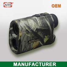 Aite Brnad 6*24 400Meters(Yard) camo laser range finder with speed measure function picatinny rail