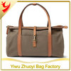 2014 China Supply Large Capacity Duffel Bag With PU Handle