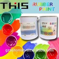 4liter liquid rubber plastic dip car body paint gold coating