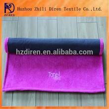 anti-slip 100% polyester microfiber yoga towel mat