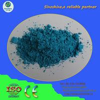 V Zr Si ceramic glaze pigment - turquoise blue