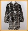 de imitación de piel falsa abrigo de invierno para las mujeres
