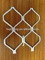Nueva de recubrimiento en polvo anodizado de aluminio de rejilla