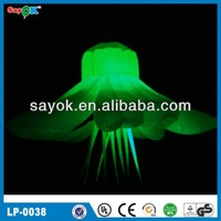 Indoor decoration for night club inflatable flower decoration