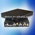 4ch h. 264 câmera do carro dvr veículo reprodutor multimídia com controle remoto