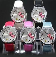 USA popular hello kitty watches ladies