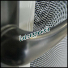 Fashionable hot sale China stainless steel bullet proof window screen for home protection