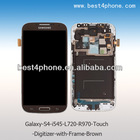 i545 L720 i9500 i337 M919 R970 LCD Touch Digitizer Screen + Frame for Galaxy S4