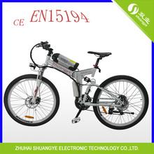 lithium battery electric bike alloy folding A9