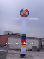 inflatable football air dancer, sky dancer for sports events