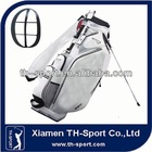 2014 Custom PU Leather oem golf stand bag