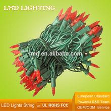 120V 24Ft 70L Red Color LED Christmas Lights