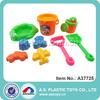 10 PCS 24.5CM Novelty Plastic Summer Toy Beach Item With Mesh bag