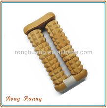Wooden massager , wooden hand massager , handheld wooden massager