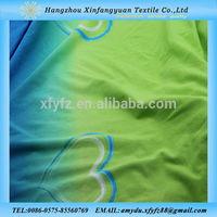 Love Heart Sea Island design printed Cotton Fabric Knitted Fabric