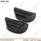 Elegant Shiny PU Leather Sunglasses Cases with Diamond