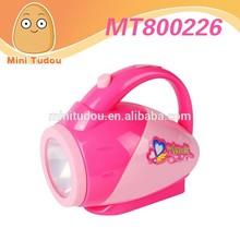 China fabricante as crianças brincam casa mobiliário brinquedos mini aparelhos brinquedos lanterna com luz