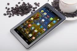 Dual Core 7 inch Tablet Pc pcs phone call 3G Sim Card Slot with Camera MTK6572 1024X600 512GB RAM 4GDH GPS GSM WCDMA