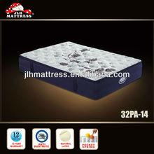 Natural latex pocket spring foam box mattress