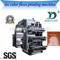 6 color de la bolsa de plástico de nylon de impresión de la máquina