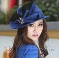 handmade puro mulheres lã chapéus de feltro fazendo atacado na china