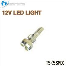 VW T5 LED 5SMD CAR LIGHT BULB AUTO LAMP DASHBOARD LIGHT