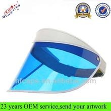 Fashion Cute Long Bill Custom Plastic Sun Visor Cap Wholesale