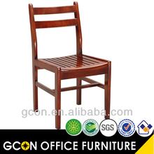 moderno encosto de madeira sólida sala de jantar cadeiras de jantar gm5008