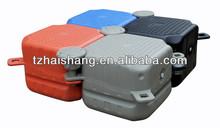 Plastic floating dock plastic pontoon cubes