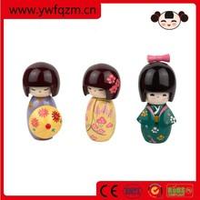 Besting selling kokeshi japanese wooden dolls crafts