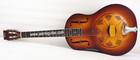 China Aiersi Sunburst Colour Steel Body Duolian Resonator guitar