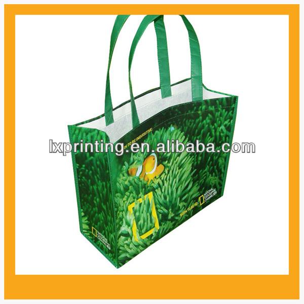 2015 hot sale Rpet non woven shopping bag