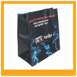 2015 hot sale Rpet non woven shopping bag