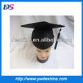 Atacado preto de pós-graduação chapéus MZ222