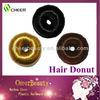 professional hot sale hair bun roll hair pieces hair donut