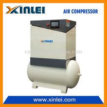 Power 7.5KW 10HP XLAS10AT BELT screw air compressor with tank