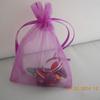 drawstring candy bag organza