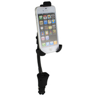 Dual car holder charger USB Car Charger Cradle Mount Holder for Samsung Galaxy S3 Note 2