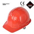 赤hdpe安全ヘルメット