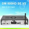 new decoder enigma2 satellite receiver dm800hd se V2 wifi Sim 2.2 Card + WIFI Rev D11 motherboard version