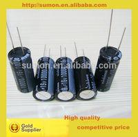 High quality 16v 10000uF aluminium electrolytic capacitor