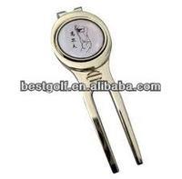 Best durable golf divot repair tool with ball marker D110