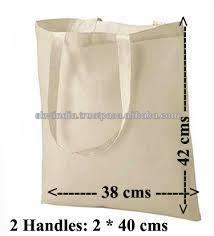 cheap plain blank cotton tote bags
