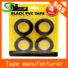 Good adhesive made in China insulated black pvc electrical tape