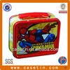 Spider-man children rectangle food grade metal box lunch box