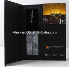 vendita calda rocce whisky pietra ollare naturale in vetro
