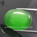 中国卸売cabocon猫目ビーズビーズブレスレット用ビーズ緑のブドウ