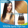 Brasileiro baratos ombre weave do cabelo reto pacotes, ombre kanekalon jumbo braid